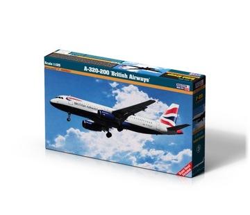 Model pre lepenie British Airways A-320-200 1: 125