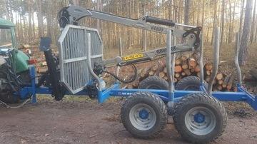 Lesný príves pre MAAUT M65C V4800 WOOD