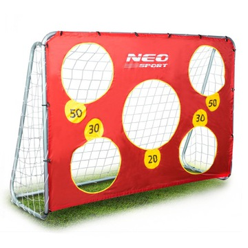Futbalová futbalová brána 215x153cm + rohož