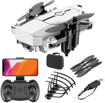 Mini Dron F86 Fotoaparát 4K WiFi HD hračka 2 batérie