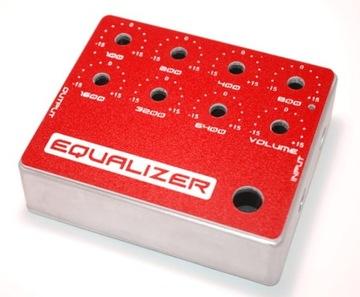 Hliníkové puzdro pre gitarový ekvalizér