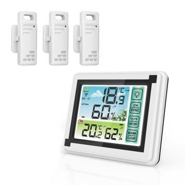Bezdrôtová meteorologická stanica Hygrometer +3 Senzory