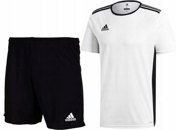 Adidas tričko šortky futbalové oblečenie v R 164