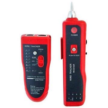Vyhľadávač meračov káblových testerov RJ45 s pármi vodičov