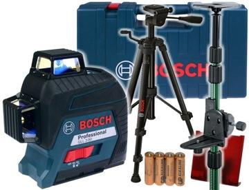 LASER GLL 3-80 BOSCH CASE + TP320 + BT150