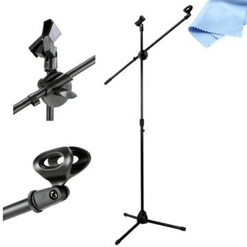 Boom Statív pre scénický mikrofón s 2 rukovätimi