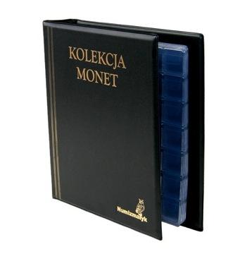 Klerser album na 350 mincí Malé mince 2 PLN 5 PLN