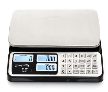 Stupnica 40kg / 2g Elektronický sklad +