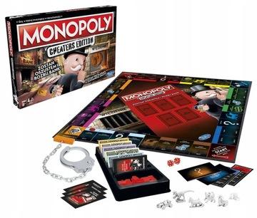 Monopoly Cheaty hra Staňte sa podvodníkom E1871