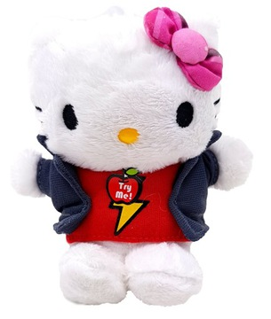 HELLO KITTY MASCOT PLUSH HRAČKA SO ZVUKOM