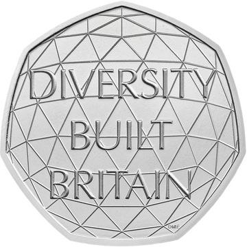 Spojené kráľovstvo 50 Rozmanitosť 2020