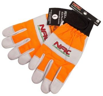 NAC ochranné rukavice proti porezaniu pre motorové píly