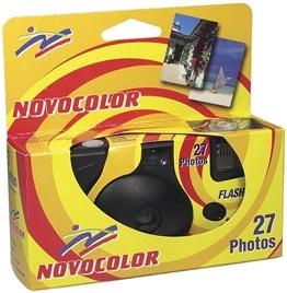 Jednorazový fotoaparát NOVOCOLOR