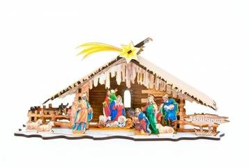 Vianočná postieľka - samozostavenie