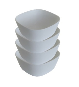 Miska na DIPS 4 ks. Biely výrobca kontajnerov