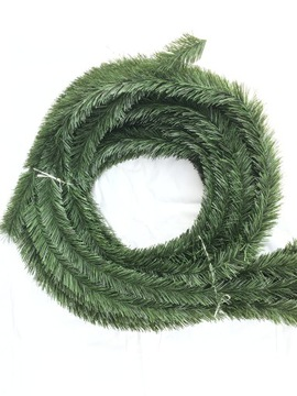 Garland Chain Green Reeds Decoration 20x4,5m