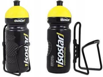 Sada hliníkového koša na fľaši s vodou Isostar 650 ml