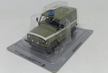 UAZ-469 MILITIA AUTA CAR PRL 1:43