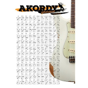 A33B Guitar Chord Plagát