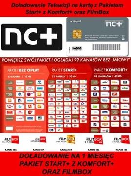 TOPPPPUT START + KARTY S COMPORT + A FILMBOX NA 1M