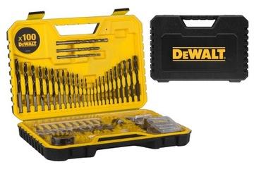 Sada DeWalt DT71563 Vrtáky Bity Príslušenstvo 100ks
