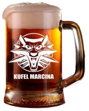 Witcher Beer Mug + Your Engrger! Lux