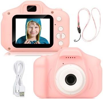 Fotoaparát Digital Kids Camera HD hra Leash