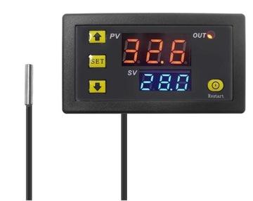 Digitálny regulátor teploty 230V Termostat