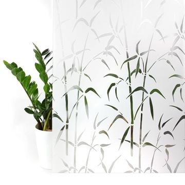 Ochranná fóliová nálepka z okien na okne 45x200 cm