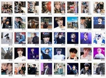 Lomo BTS Bangtan Boys Boys Card KPOP LOVE YOURSE