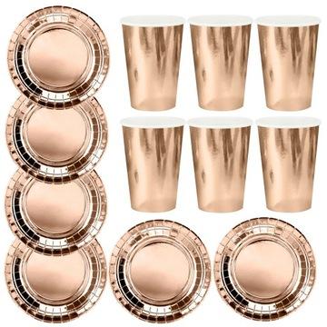 Doskové poháre Rose Rose Gold Pink Gold Set