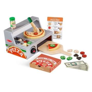 Drevená pec na pizzu + polevy na pizzu