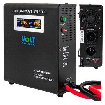 UPS 500W SINUS PRO 12V 230 C Prevodník napätia