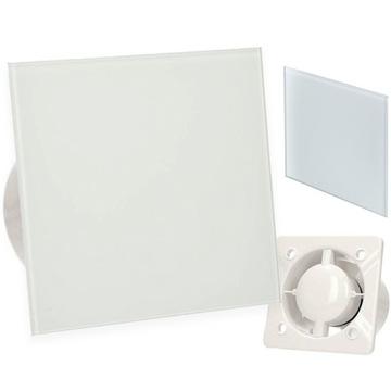 Ventilátor do kúpeľne 125 AWENTA sklenený hygrostat