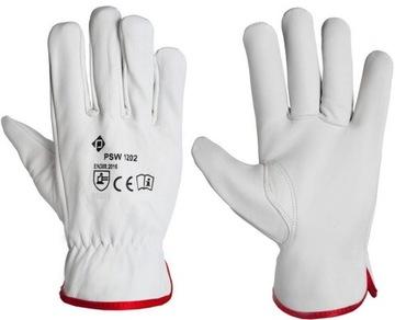 Ochranné rukavice. Koža Koža. Licu. Krátka flexická