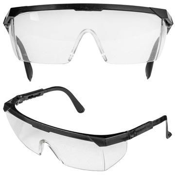 Bezpečnostné okuliare. Zúčtovacie okuliare. Clear BHP