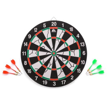 DART DAD DARTON BOARD + DARTS 6PCS