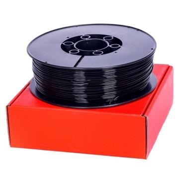 Fillament plast 1,75 mm Čierny 1 kg Plast-Weld