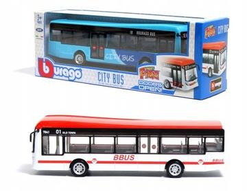 Mestský autobus dve farby 1:43 BBBBBBBBBBRAGO 18-32102