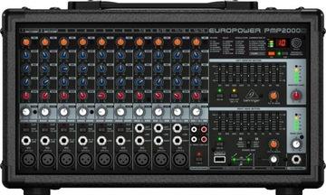 Behringer PowerMixer PMP2000D s kapacitou 2000 W