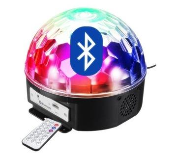 Disco Kula Big LED Bluetooth disco + pilot