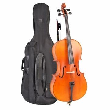 Sandner SC 306 4/4 Cello z masívneho dreva
