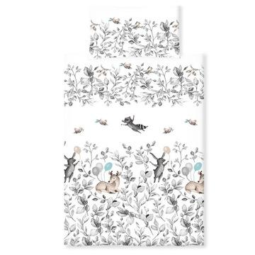 PALULLI Detské obliečky do detskej postieľky 120x90, 2 ks.