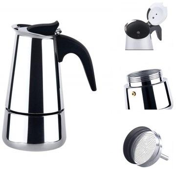 Káva Infuser Maker Kávovar Indukčný plyn 6F