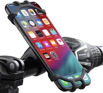 Držiak plniaceho telefónu s pevným motocykom