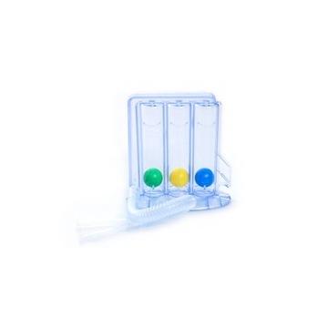 Sinmed 3-guľový spirometer pre dychové cvičenia