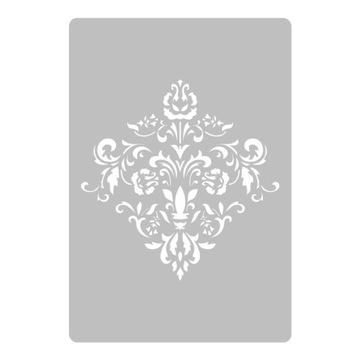 ŠABLONA MAĽBY viacnásobná / 45x65 / DAMASCUS