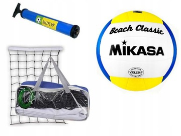 Volejbalový set - Mikasa Ball Mesh Pump