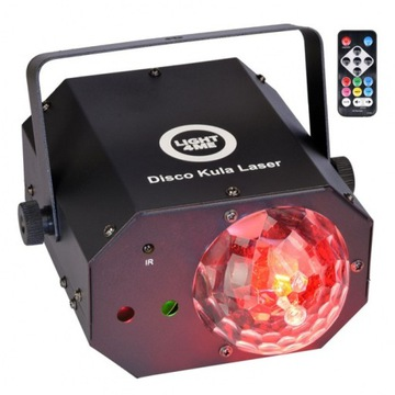 Light4me Disco Kula Laser LED Multi-Case LED