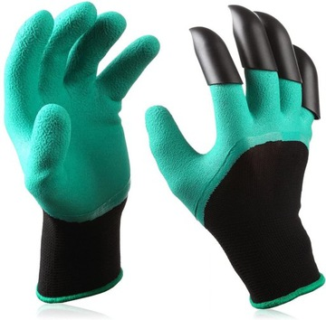 Rukavice Záhradné rukavice pazúry chytiť s pazúrou